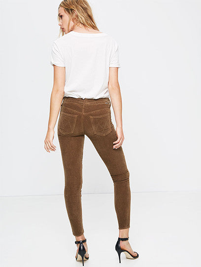 High Waisted Looker in Cinnamon
