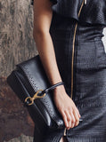 Chet Edge Laser-Cut Leather Bag by Rodebjer