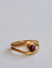 Rhodalite Surrealist Ring