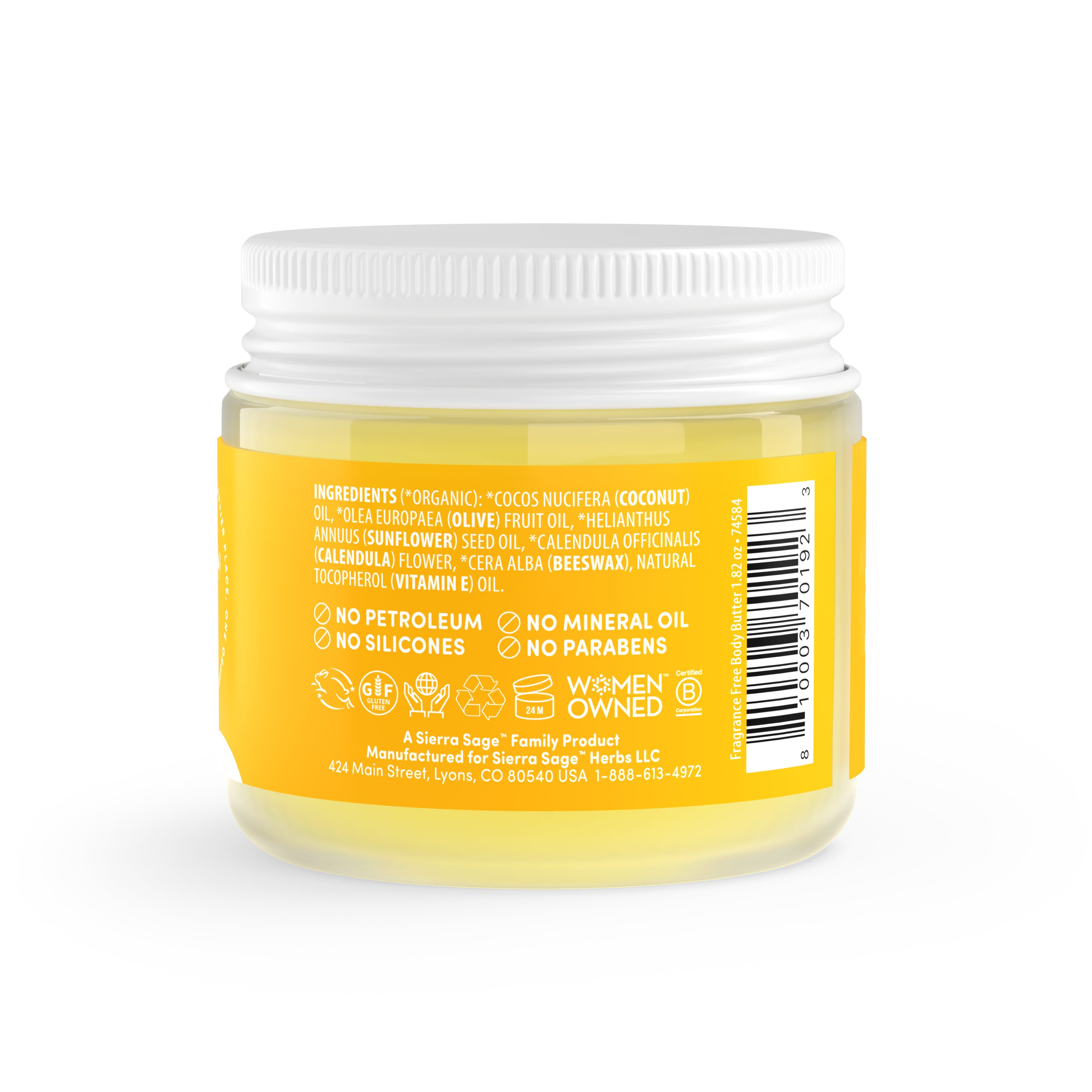 Body Butter - Fragrance Free