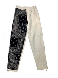 Sweatpant (white: black)