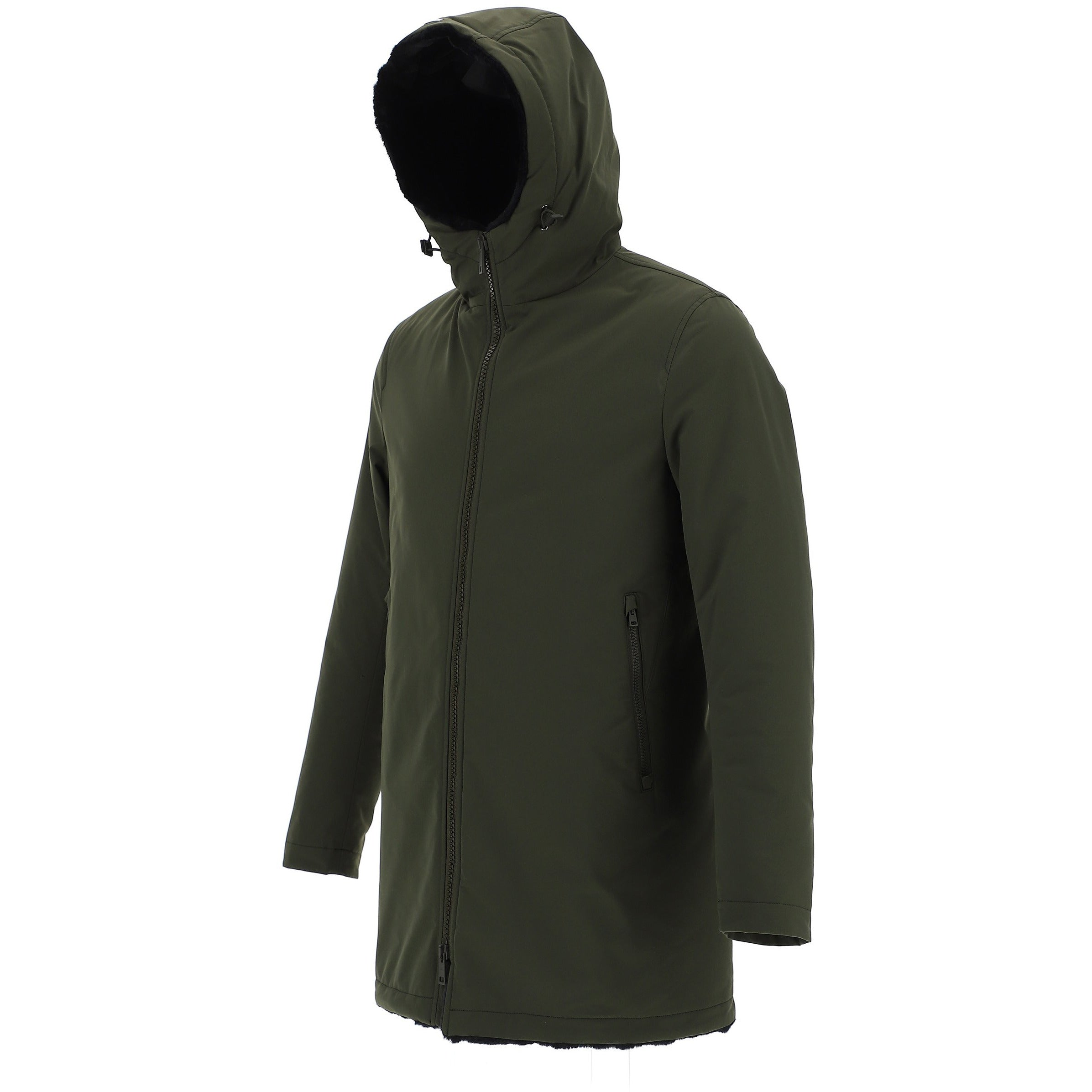 Herno Military Green Parka