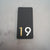 3D Vertical House Number Plaque V1