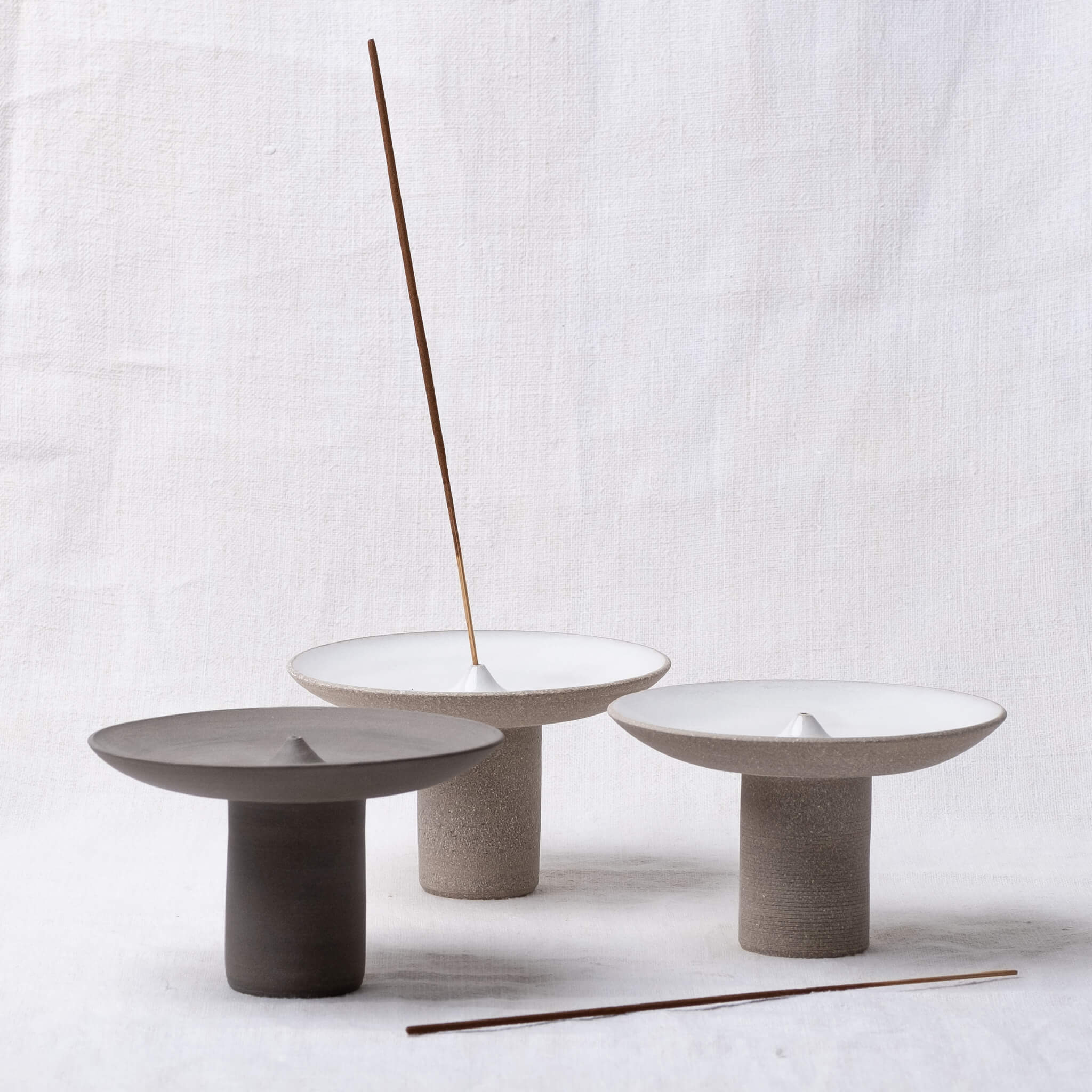 Group image of Studio Brae Offering Incense Holders
