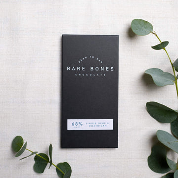 Dominican 68% Salted – Bare Bones Chocolate