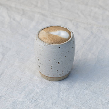Dor & Tan Tumbler - White Speckle