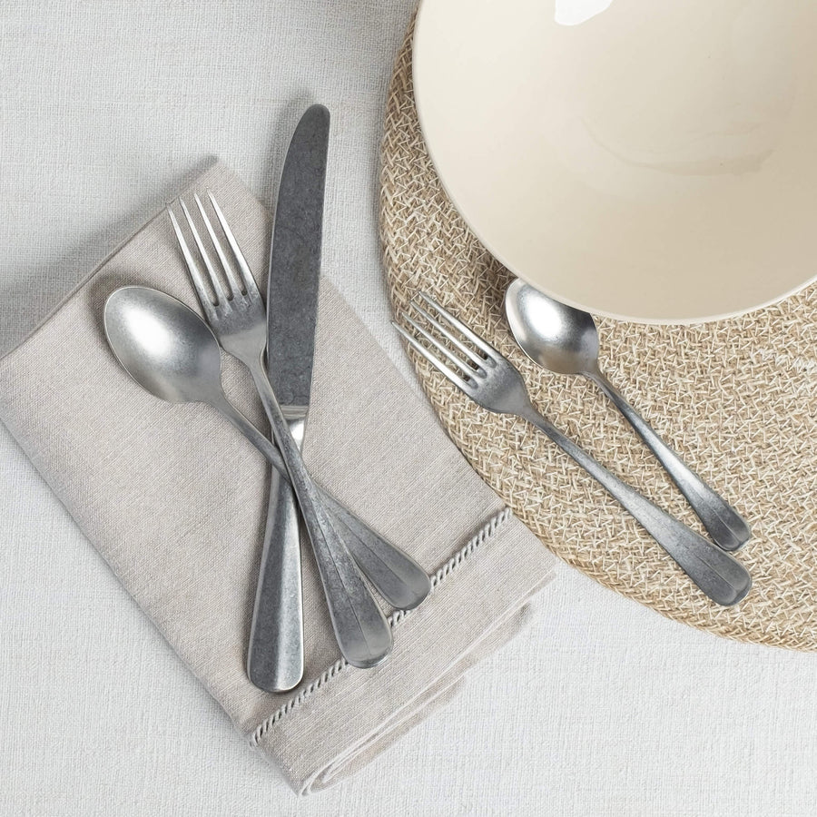 Stonewashed Baguette Cutlery