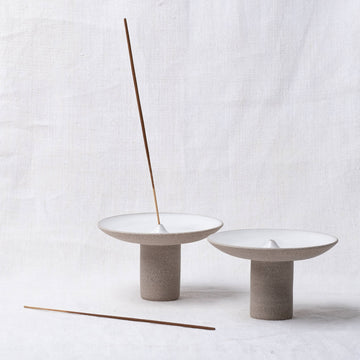Studio Brae Offering Incense Holder - Grey
