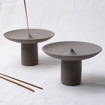 Studio Brae Offering Incense Holder - Charcoal