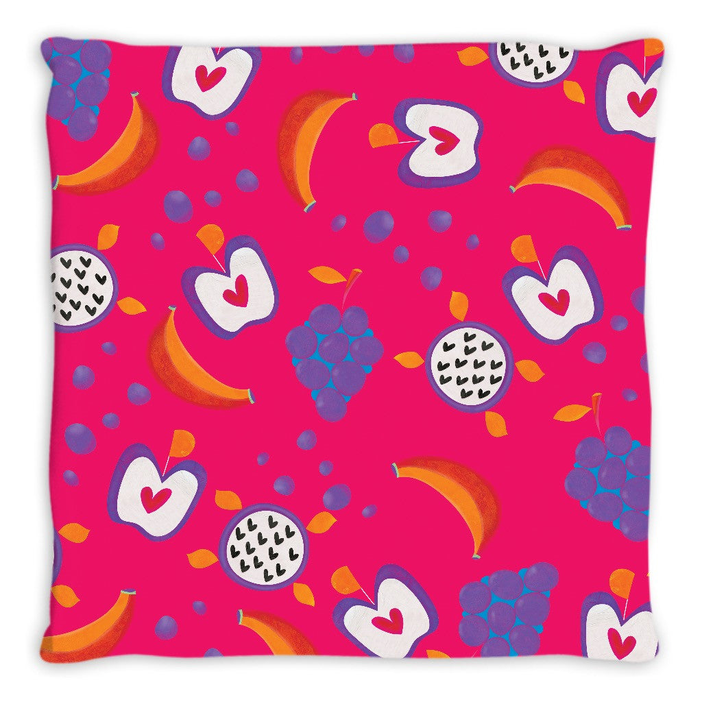 Fruits From Heaven Double Sided Throw Pillow