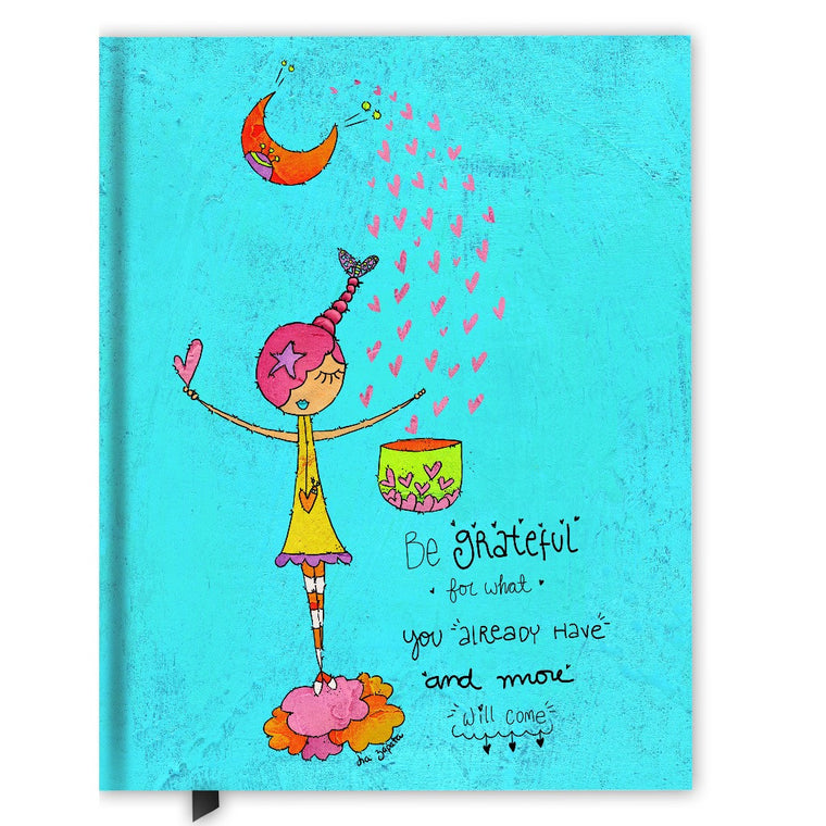 Be Grateful Hardcover Journal