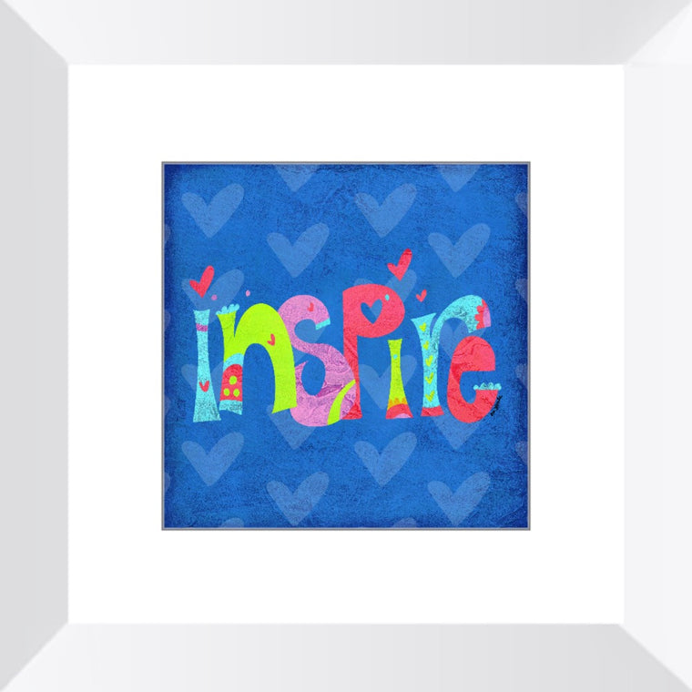Inspire Framed Art Print