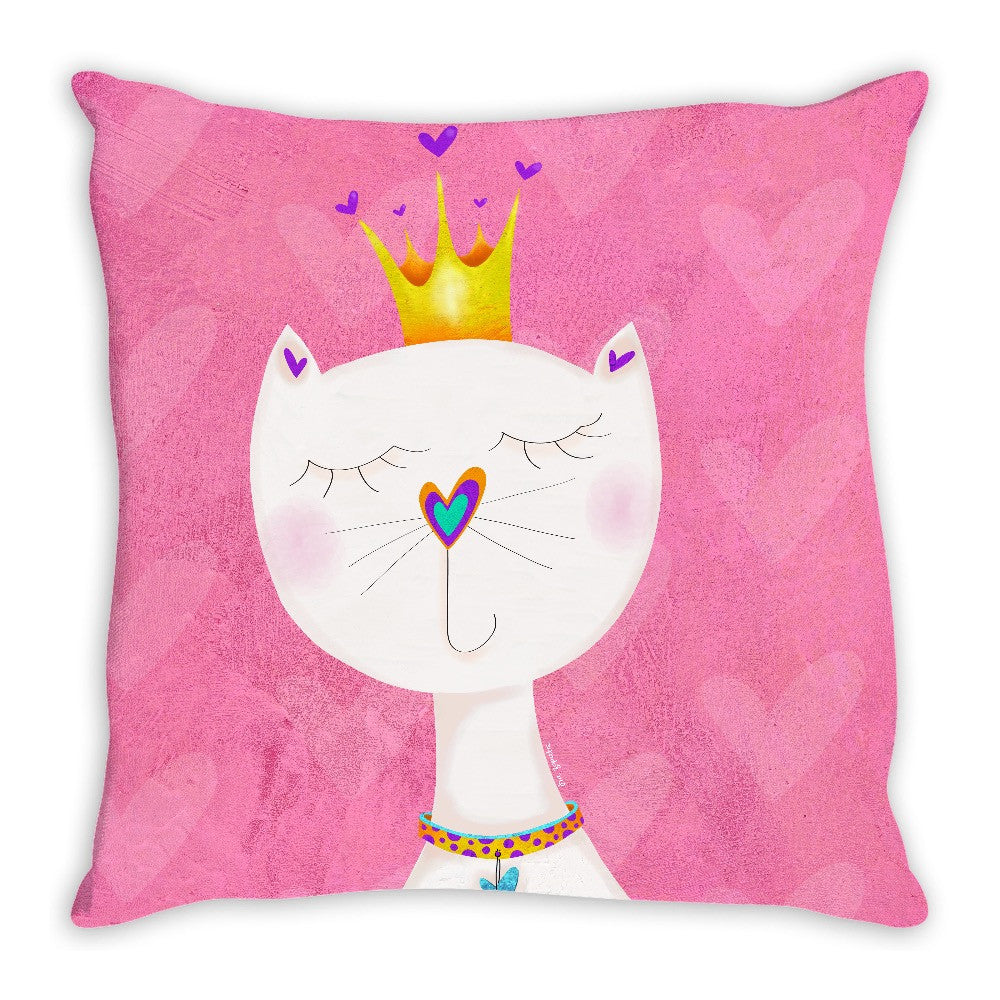 Queen Kitty Double Sided Pillow