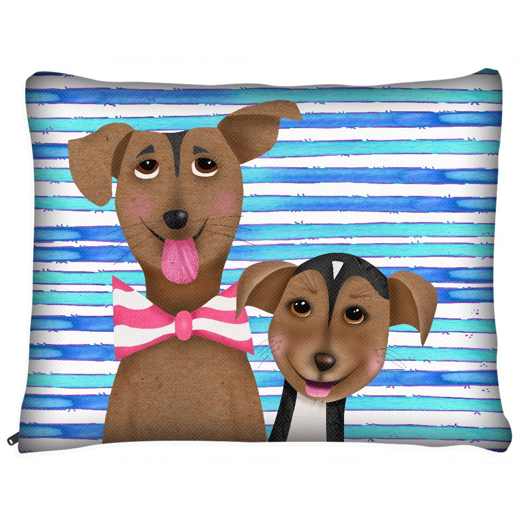 Los perritos Locos Dog Bed