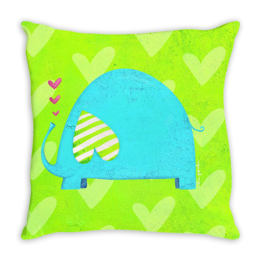 Roland The Elephant Double Sided Pillow