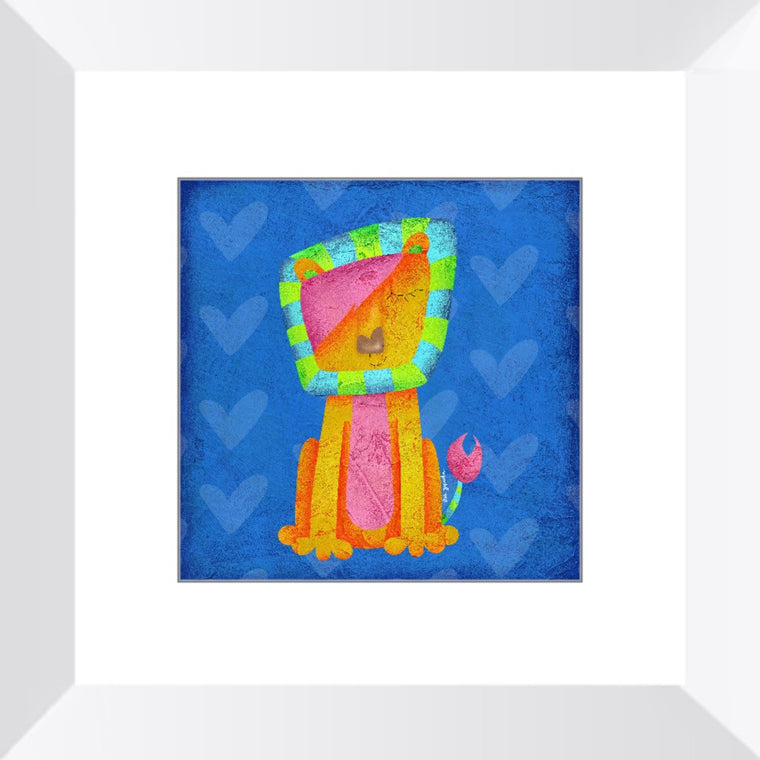 Leo The Lion Framed Art Print