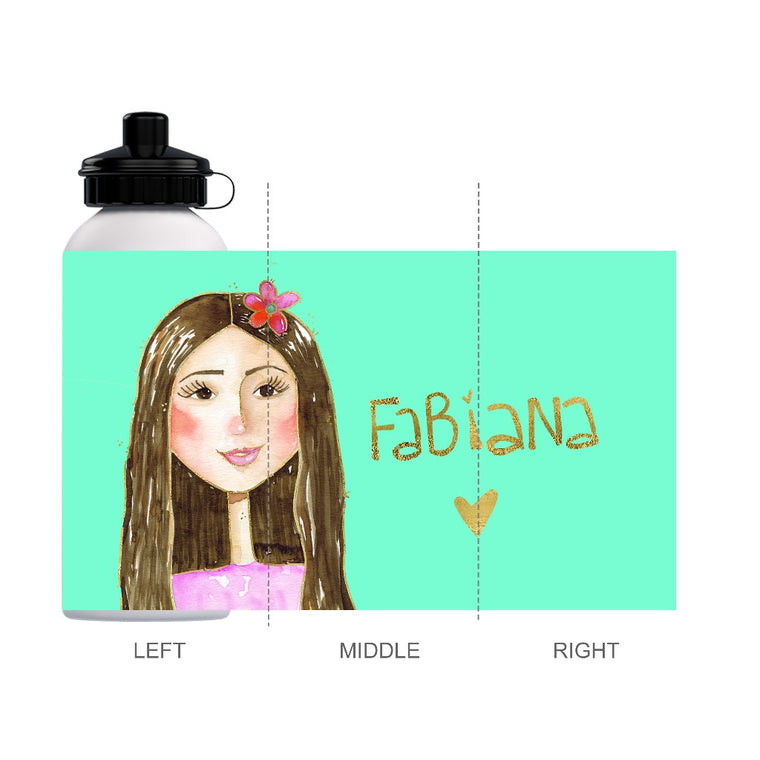Fabiana Water Bottle Custom Order