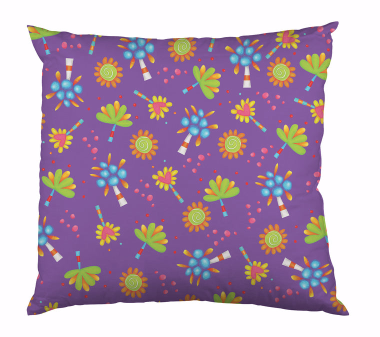 Tropical Garden Outdoor Pillow