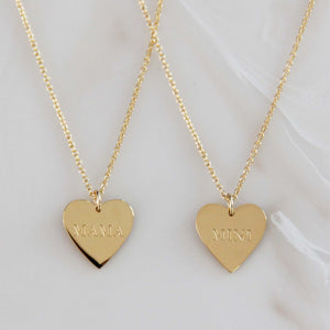Mama + Mini Gold Necklace Set - Preorder For Mothers Day