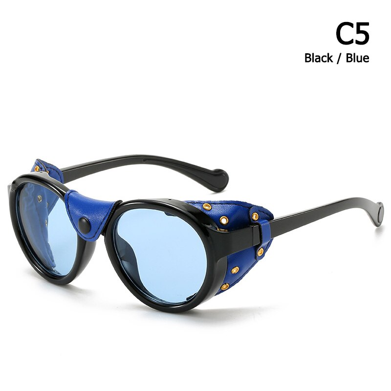 SteamPunk Vintage Round Style Polarized Sunglasses