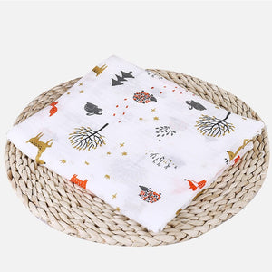 100% Cotton Soft Baby Newborn Blankets