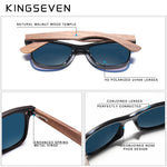 Load image into Gallery viewer, Polarized Walnut Wood Mirror Lens Sun Glasses
