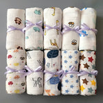 Load image into Gallery viewer, 100% Cotton Soft Baby Newborn Blankets