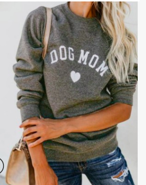 Dog  Mom  Sweatshirt.