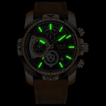 Load image into Gallery viewer, Waterproof Men's Gold Watch