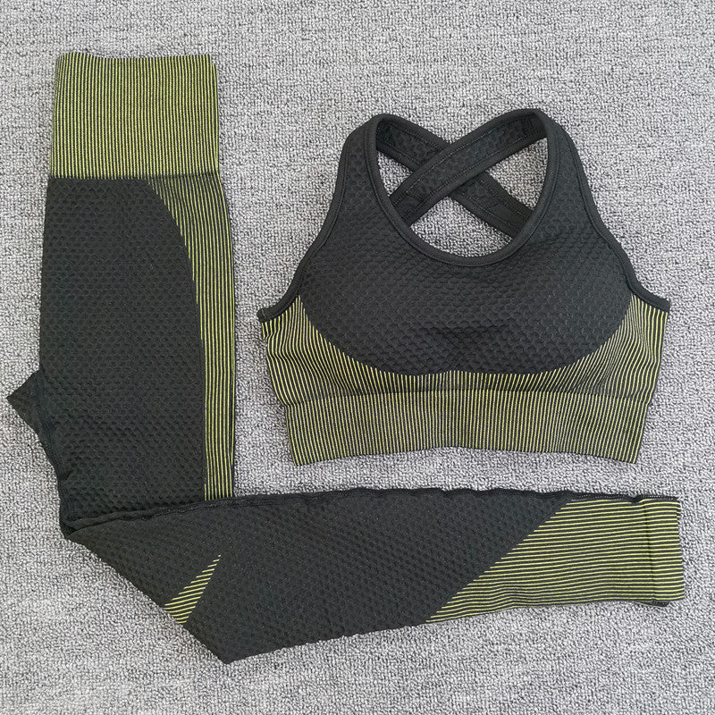 Seamless Active Wear Set.