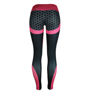 High Waist Mesh Leggings