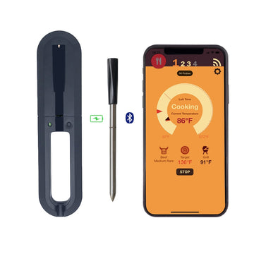 Digital Meat Thermometer (Smart Wireless/Bluetooth)