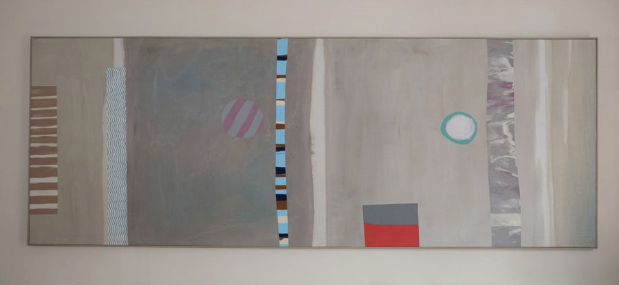 Contemporary Geometric Art Oil on Canvas part 3