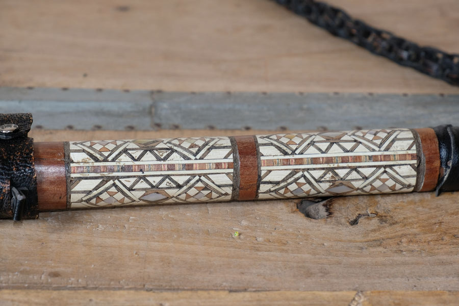 Mid 20th Century Decorative camel whip with hidden pick