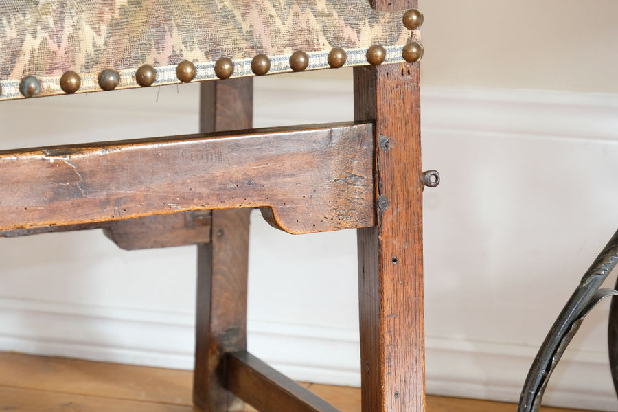 PAIR of Late 18th Century French Oak Armchairs