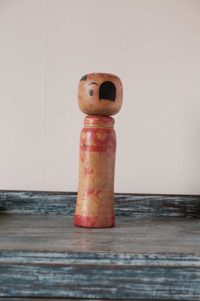 Traditional Vintage Japanese Kokeshi Doll 290mm high (1196a)
