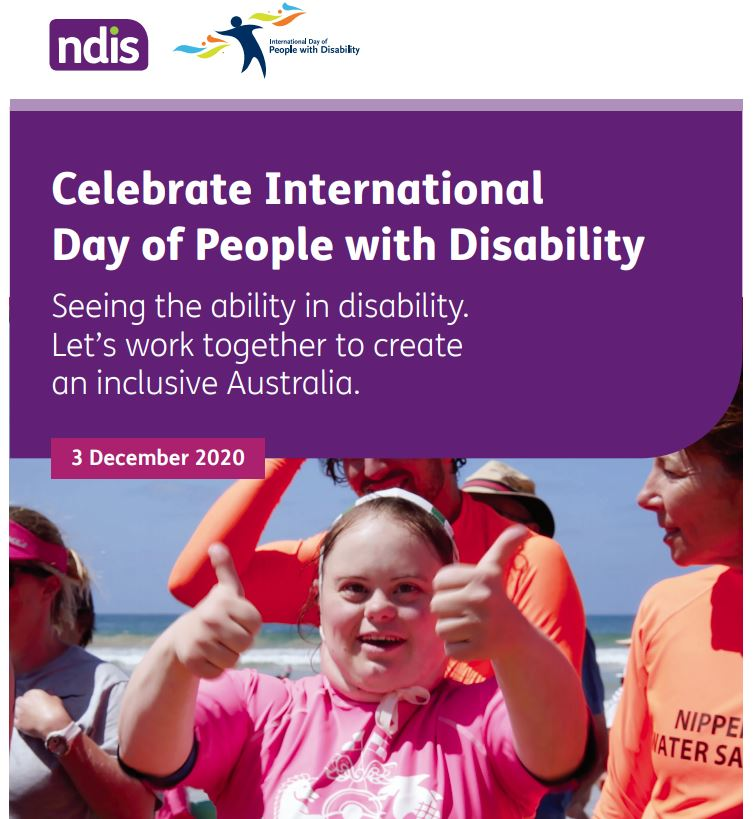 Celebrate International Day of People with Disability