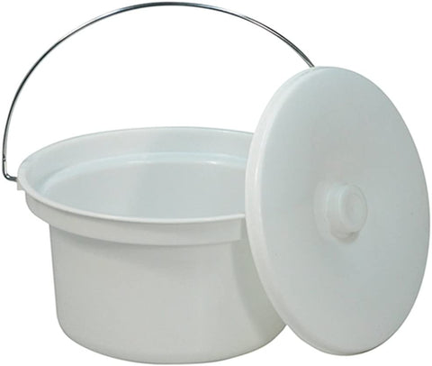 Ausnew Home Care Disability Services Bucket with Lid for Essex Commode  | NDIS Approved, mount druitt, rooty hill, blacktown, penrith