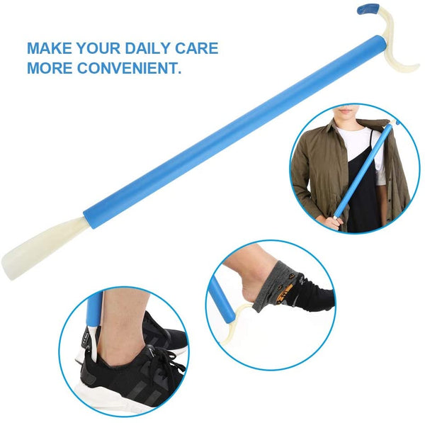 Ausnew Home Care Disability Services Dressing Stick Shoehorn Combo | NDIS Approved, mount druitt, rooty hill, blacktown, penrith