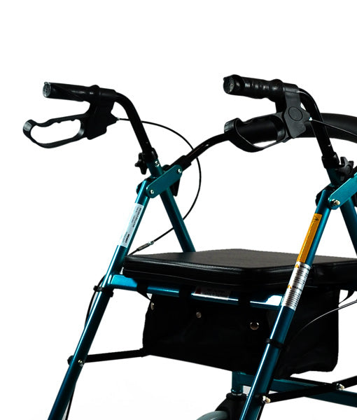 Ausnew Home Care Disability Services  Hero Quad Seat Walker – 8 inch wheels | NDIS Approved, mount druitt, rooty hill, blacktown, penrith