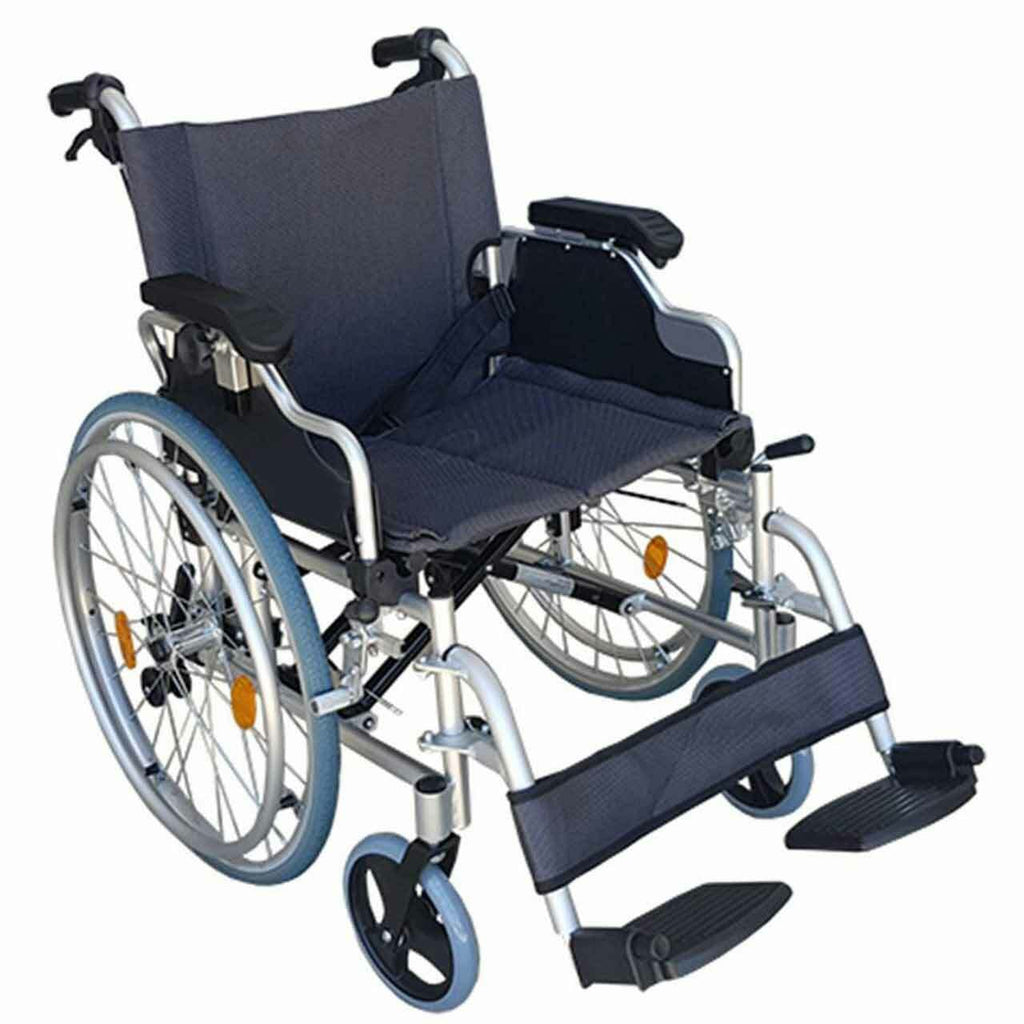 Ausnew Home Care Disability Services Deluxe Wheelchair Self Propel 50cm seat | NDIS Approved, mount druitt, rooty hill, blacktown, penrith