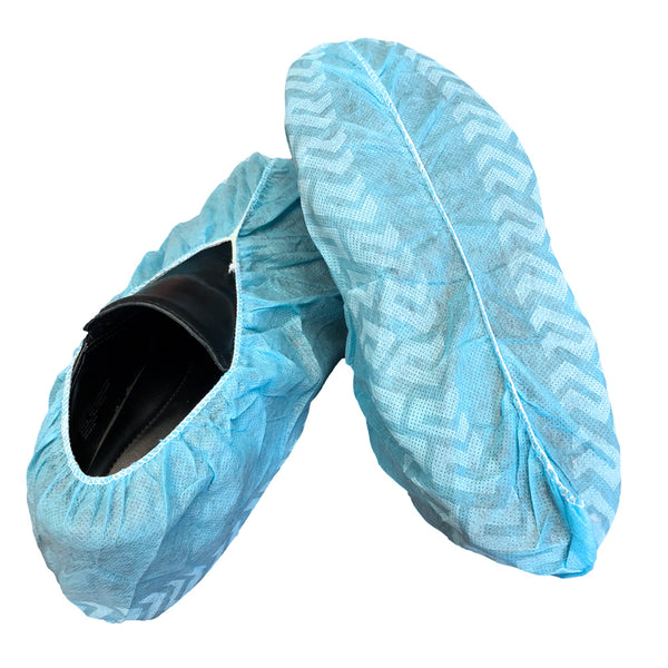 Safe-Sense™ | Disposable Shoe Cover | Non-Skid | Latex Free & Fluid Resistant | Durable Quality