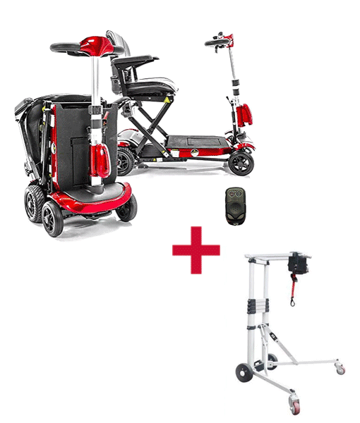 Genie Plus Travel Scooter Bundle