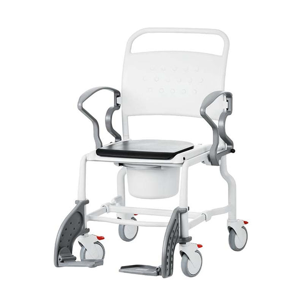 Ausnew Home Care Disability Services Rebotec Boston – Wide Commode Chair | NDIS Approved, mount druitt, rooty hill, blacktown, penrith