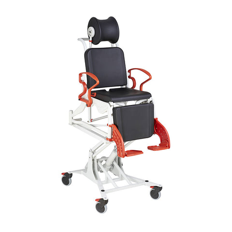 Ausnew Home Care Disability Services Rebotec Phoenix Multi – Tilt-in-Place and Pneumatic Lift Commode Shower Chair | NDIS Approved, mount druitt, rooty hill, blacktown, penrith
