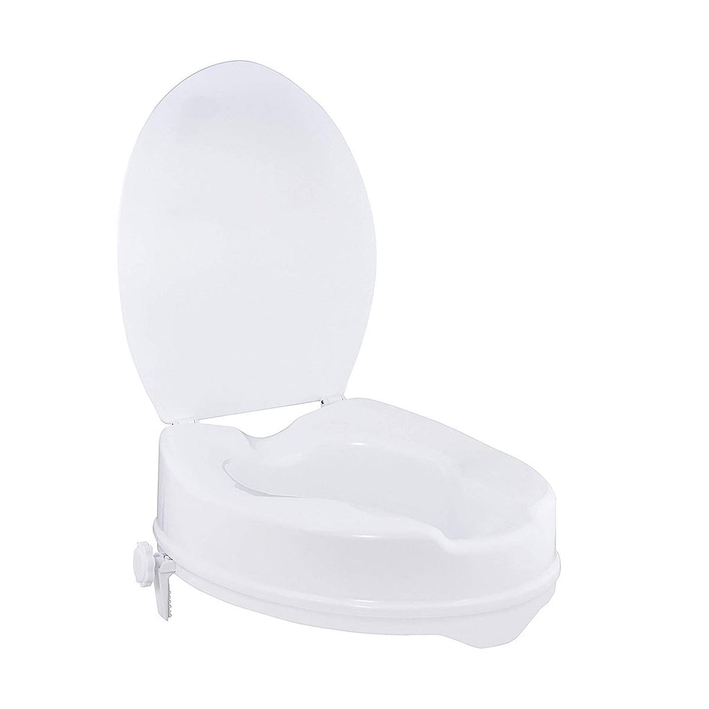 Ausnew Home Care Disability Services Raised Toilet Seat With Lid | NDIS Approved, mount druitt, rooty hill, blacktown, penrith
