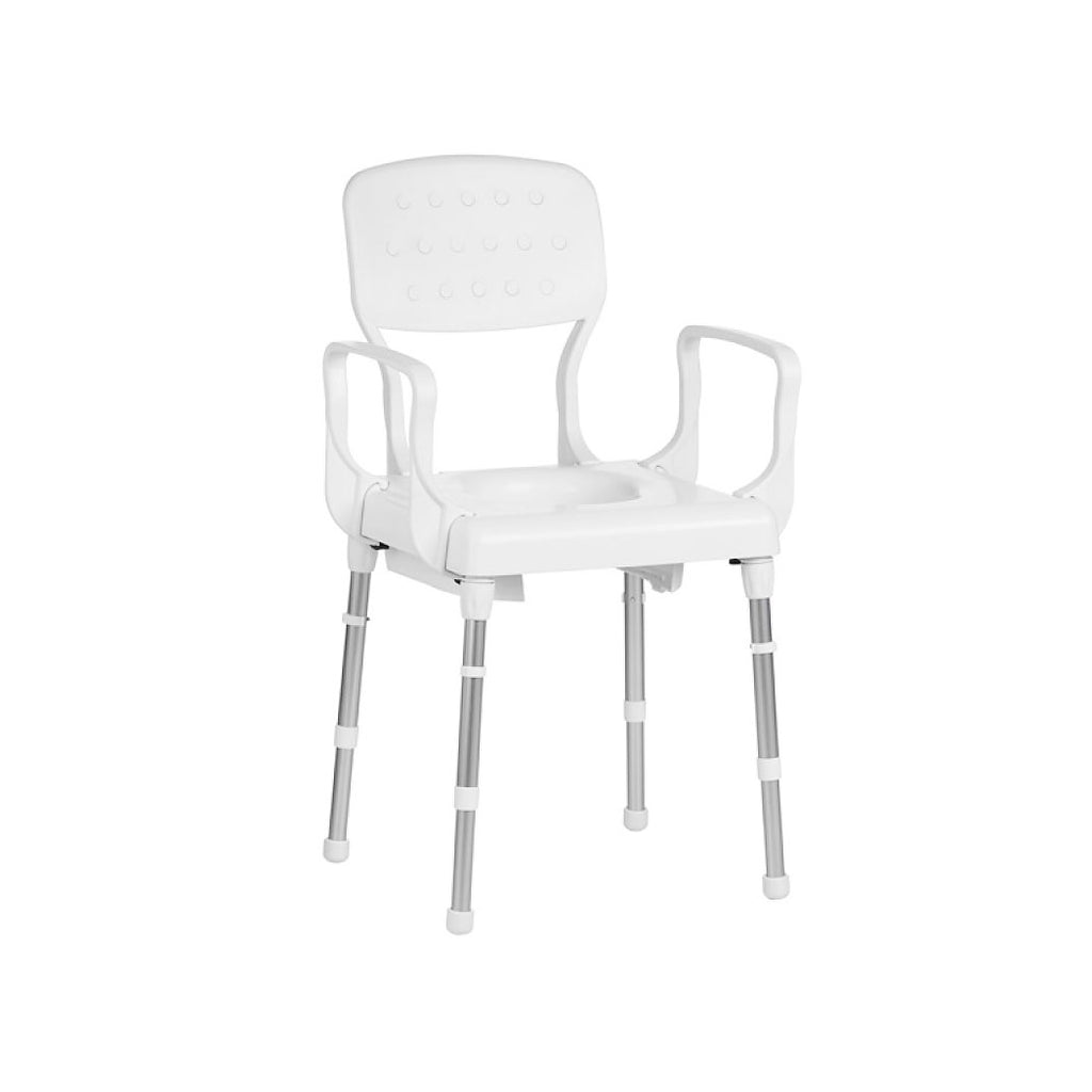 Ausnew Home Care Disability Services Rebotec Lyon – Height Adjustable Commode Chair | NDIS Approved, mount druitt, rooty hill, blacktown, penrith