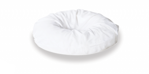 Ausnew Home Care Disability Services Ring Cushion Poly/Cotton Over Slip - White | NDIS Approved, mount druitt, rooty hill, blacktown, penrith