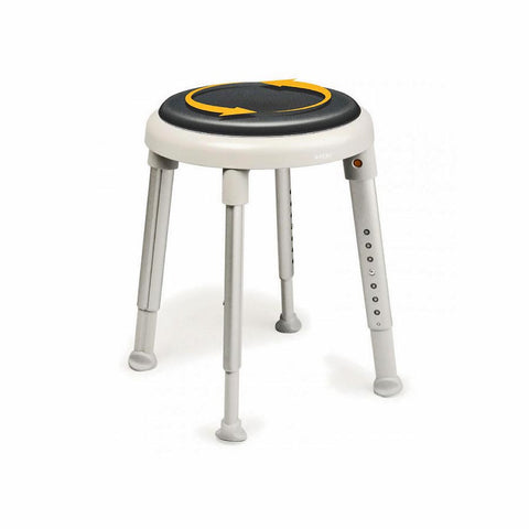 Ausnew Home Care Disability Services Round Swivel Shower Stool | NDIS Approved, mount druitt, rooty hill, blacktown, penrith