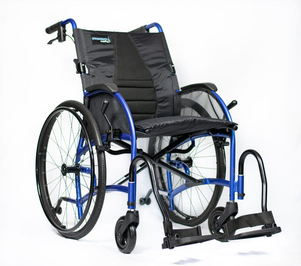 Ausnew Home Care Disability Services Strongback Ergonomic Lightweight Manual Wheelchair | NDIS Approved, mount druitt, rooty hill, blacktown, penrith
